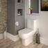 Series 600 Close Coupled Toilet & Seat straight Ellegant