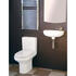 Slim Line Compact Cloakroom Suite Contemporary