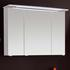Solitaire 6005 Mirror Cabinet 3 Doors with LED Light Canopy