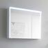 Solitaire 6010 Mirror cabinet inc LED light cornice and LED profile