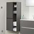 Solitaire 6010 Wall Hung Bathroom Shelf Unit 2 Revolving Doors
