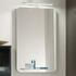 rectangle Solitaire 6900 Bathroom Mirror with Glass Tray