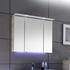 Solitaire 7005 3 Door Mirror Cabinet with LED Lighting