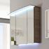 Solitaire 7005 Mirror Cabinet with Light Canopy