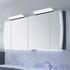 Solitaire 7025 LED Wall Mirror Cabinet 4 Door