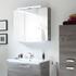 Solitaire 9020 Bathroom Mirrored cabinet 2 mirrored doors - 178313