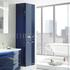 Solitaire 9020 Tall Bathroom cupboard 2 doors - 178317