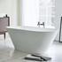 Sontuoso Contemporary Freestanding White Bath