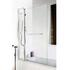 quality Extended Square screen Square Bath Screen with Fixed Panel & Rail