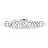 Stainless Steel Slim Round Fixed Shower Head 400mm Diameter