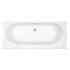 Trojan Cascade Elegant Double Ended White Bath