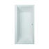 modern rectangle Trojan Elite Double Ended Bath White