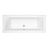 Trojan Solarna Double Ended Bath White