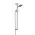 Ultra  Rectanular Shower Slide Rail Kit, Square Head