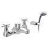 inspiring  CHROME standard Bath Shower Mixer Taps cross head Handle
