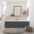 WHITE DOUBLE ENDED BATH
