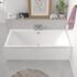 Vernwy 1800x900 Large Double Ended Rectangle Bath