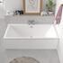 Vernwy 1800x1100 Jumbo Double Ended Rectangle Bath