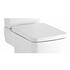 White Bliss Soft Close Top Fix Quick Release Toilet Seat