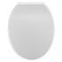 White Standard Round Soft Close Quick Release Toilet Seat