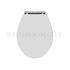 White Traditional Toliet Seat (Chancery)