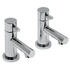 luxurious CHROME standard 3 Hole Basin Mixer Taps With a lever Handle