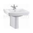 traditional Contemporary Basin 58cm and Semi Pedestal