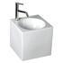 Cubo2 Ceramic Basin Wall Hung straight Designer and Stylish Bathroom Accessory