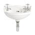 Dorchester White Basin Baby with 2 Tap Holes Stylish Bathroom Accessory