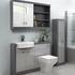 Grove 1200 Combination Vanity Unit Platinum Grey - 179249