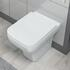 BC Square Back To Wall Pan with Soft Close Toilet Seat - 15733