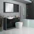 Hacienda Fitted Furniture Pack Black Bathroom