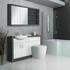 Hacienda Bathroom Fitted Furniture Pack White