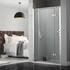 Inline Recess hinged shower door - 178389