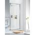Lakes Framed Pivot Door 750 X 1850 White Shower Enclosure Fashionable Bathroom