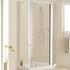 Lakes Silver Framed Pentagon Side Panel Pack (x2) X 1850 Designer Bathroom