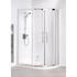 Lakes Silver Semi Framed Offset Quadrant Bathroom Shower Enclosure Modern Bathroom