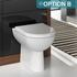 Lucido 1500 Vanity Unit White - 17397