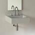Luxor 600mm Wall Hung Basin Straight Line Square Shape Designer and Stylish Bathroom Ceramic White Washbasin