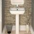 Series 600 520 Basin and Pedestal straight High Quality
