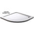 900mm Shower Quadrant white Slimline Tray