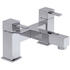 stylish Modern CHROME Bath Taps With a featured Standard spout And a lever Handle