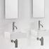 Trax Mini Square Basin straight Countertop Designer and Stylish Bathroom Accessory