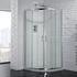 Venturi 6 Double  Door offset Quadrant Shower Enclosure 6mm Easy Clean - 178409