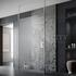 Wetroom Screen with Ceiling Poles