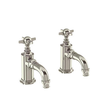 standard Twin Basin Taps (Pairs of taps) With a cross head Handle
