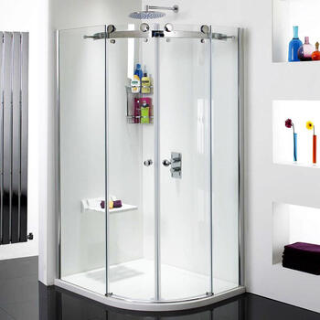 Phoenix Motion 8mm 1200 X 900 Offset Quad Shower Enclosure Fashionable Stylish Bathroom Accessory