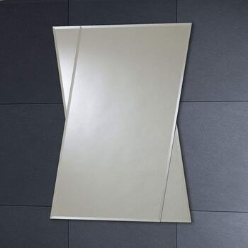 Mi005 80x60 Bevelled Edge Wall Mirror rectangle Modern
