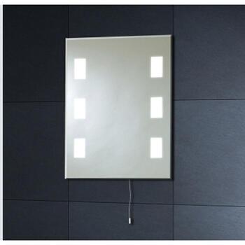 Mi008 50x39 Back Lit Mirror 6 Square - 1228