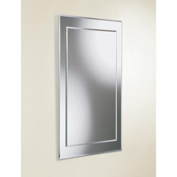 Lucy Modern Contemporary Bathroom Wall Mirror rectangle Ellegant